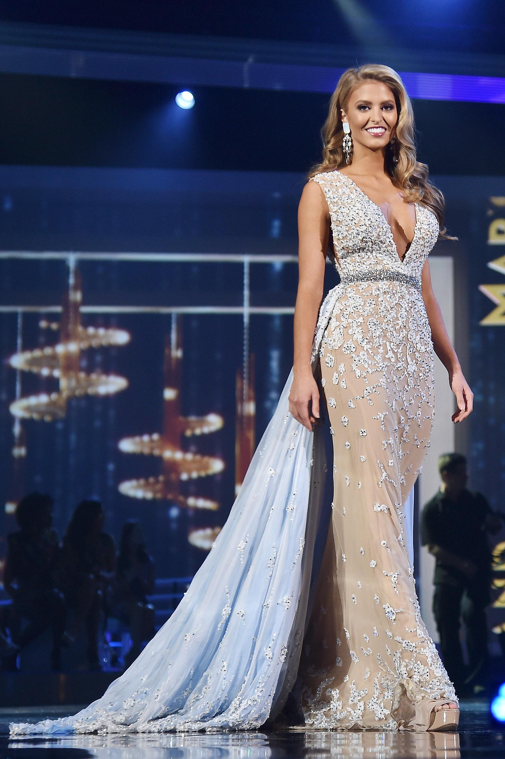 Miss Missouri USA 2017 First Runner-Up Evening Gown