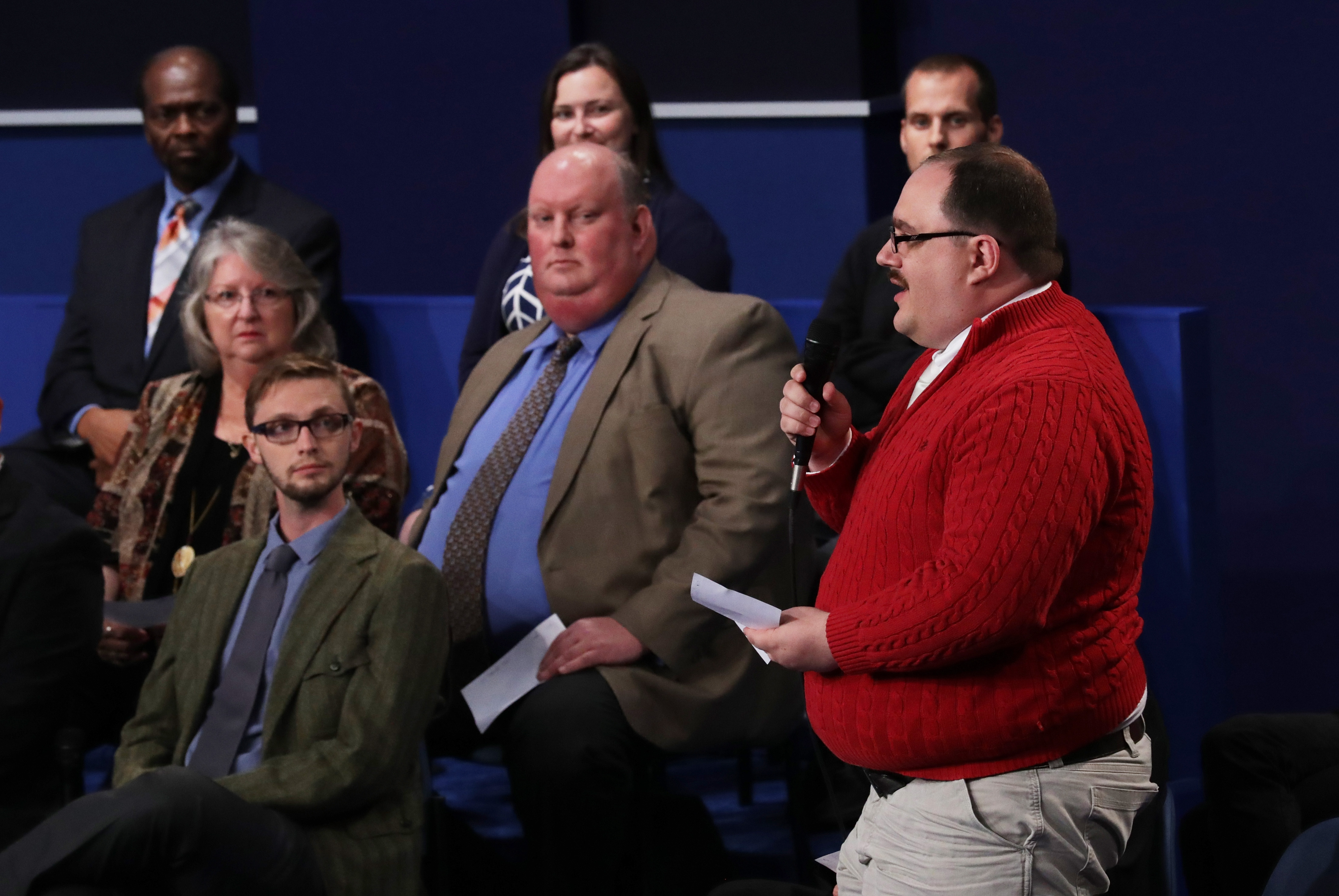 Is Ken Bone At The Last Debate? The Man In The Red Sweater Will Be ...