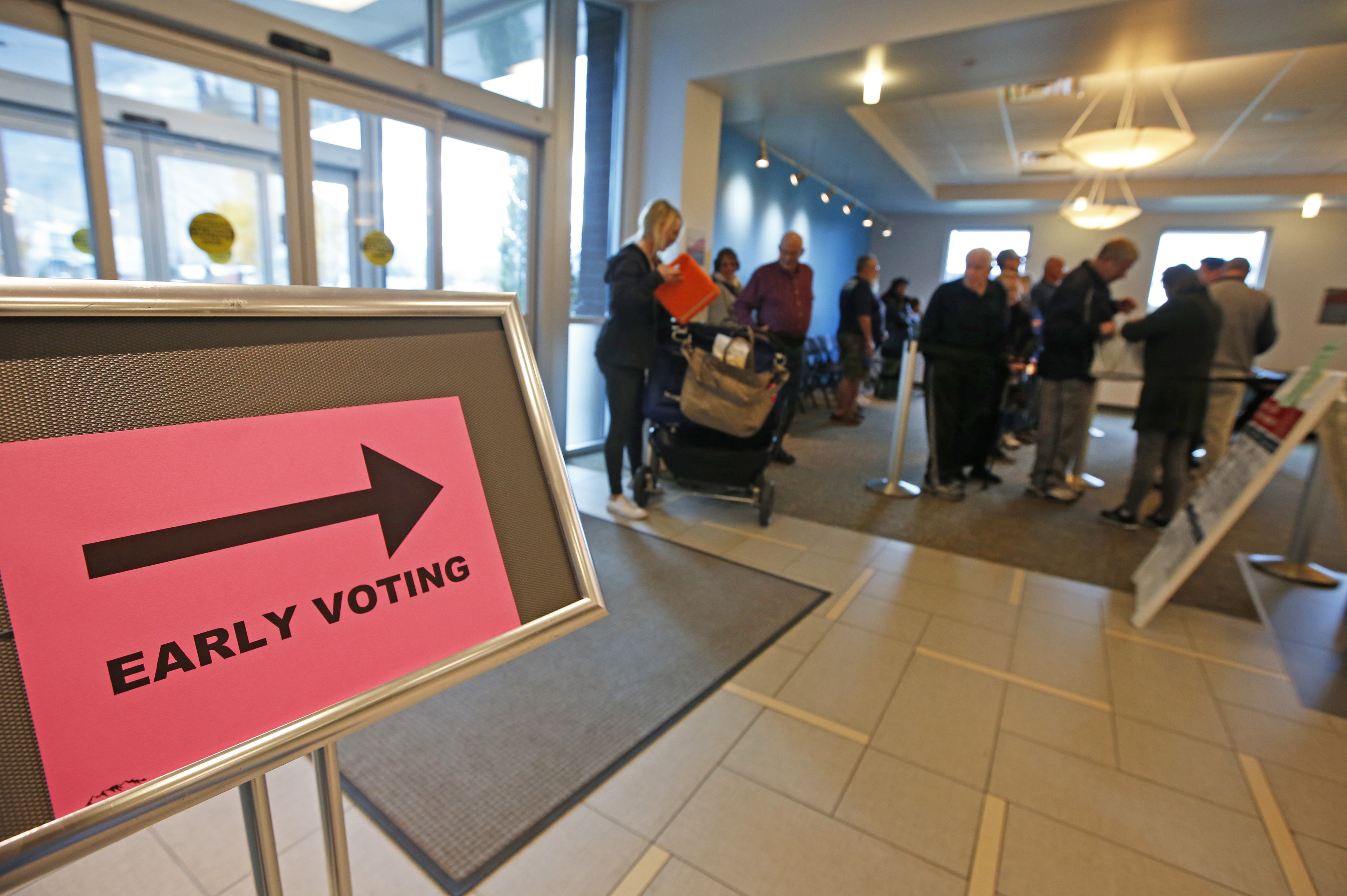 Early voting gets underway in MA