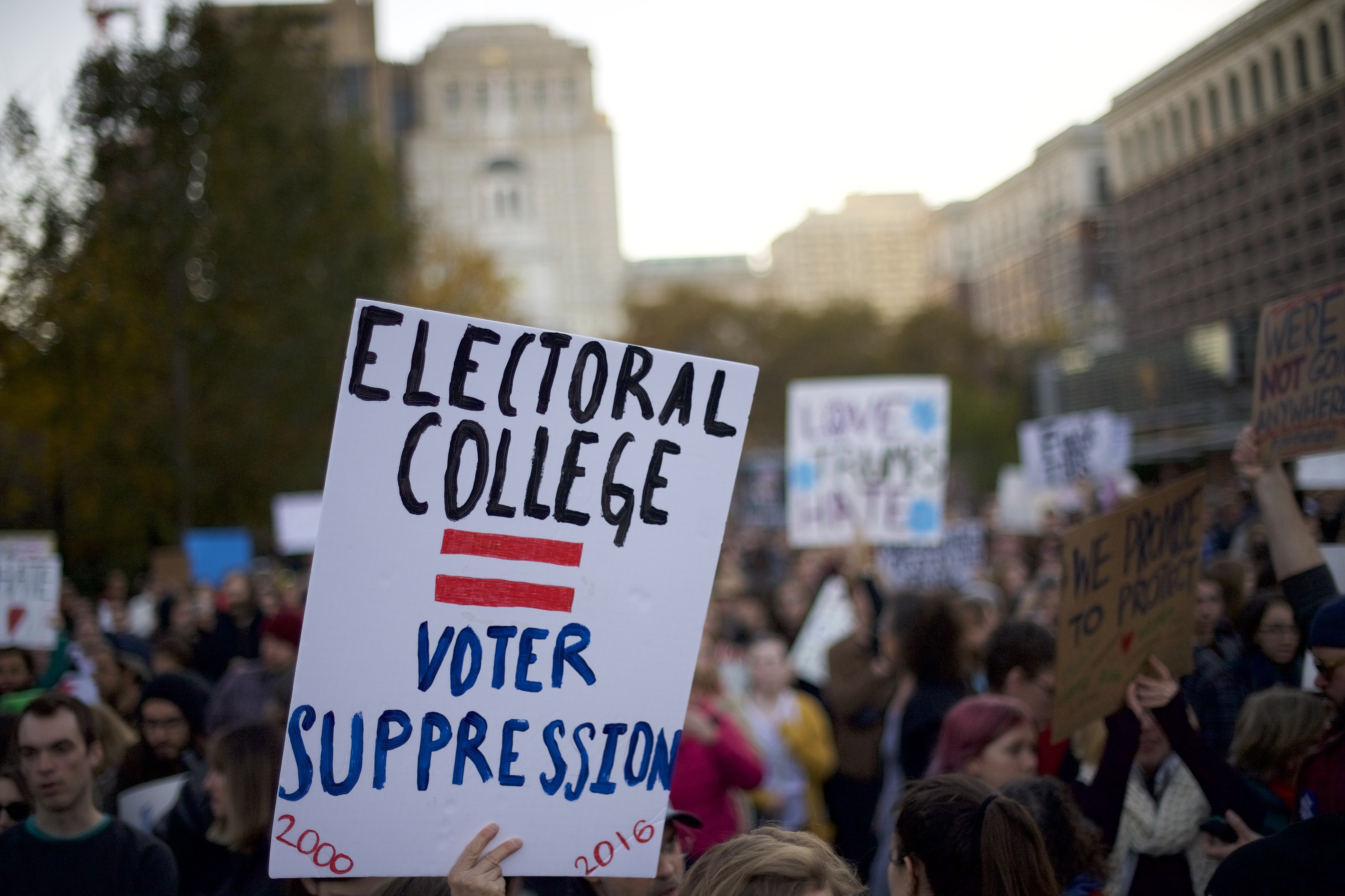 could the electoral college be changed fair vote may actually have