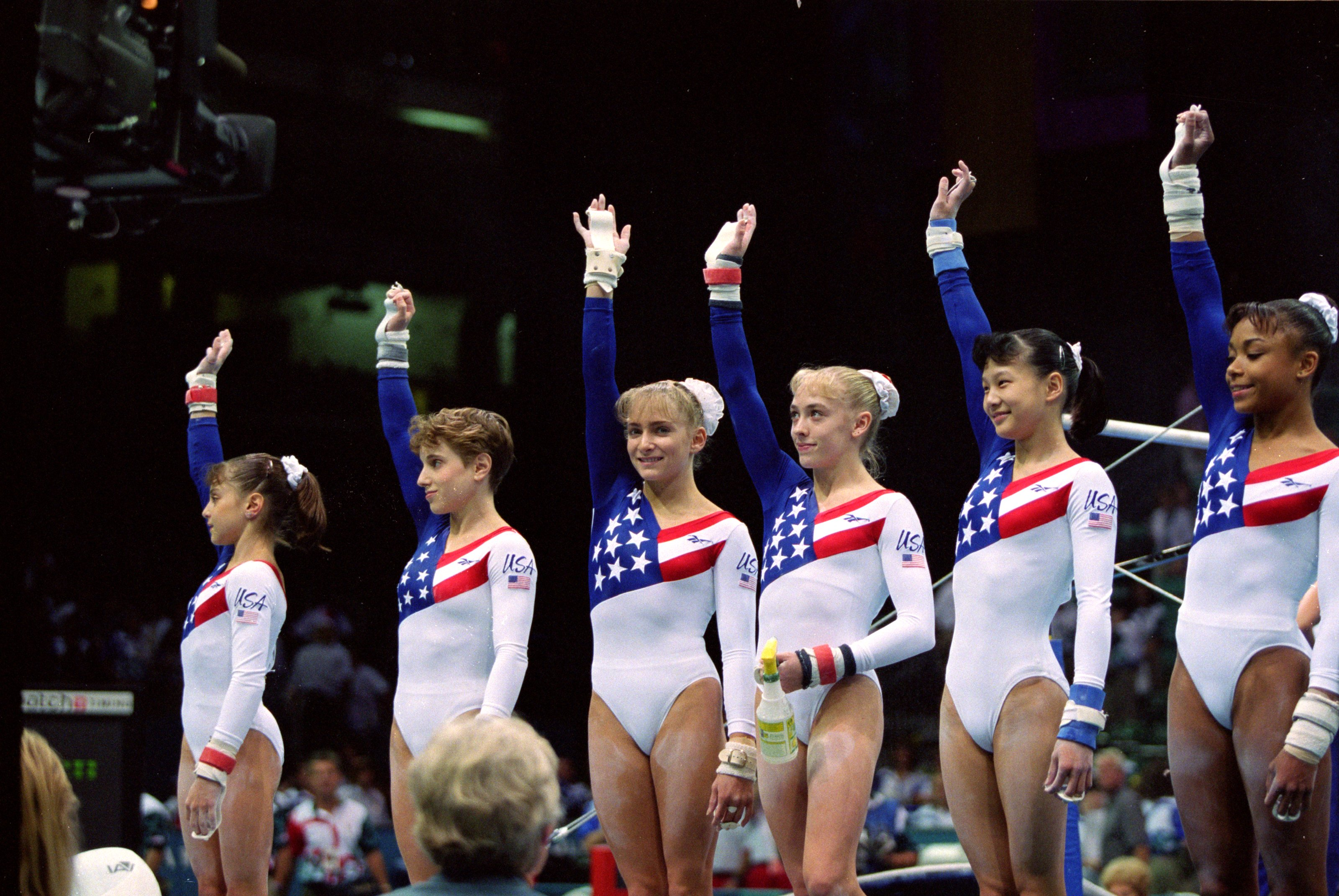 86415f077da6 The History Of Scrunchies In Olympic Gymnastics Goes Back Further ...