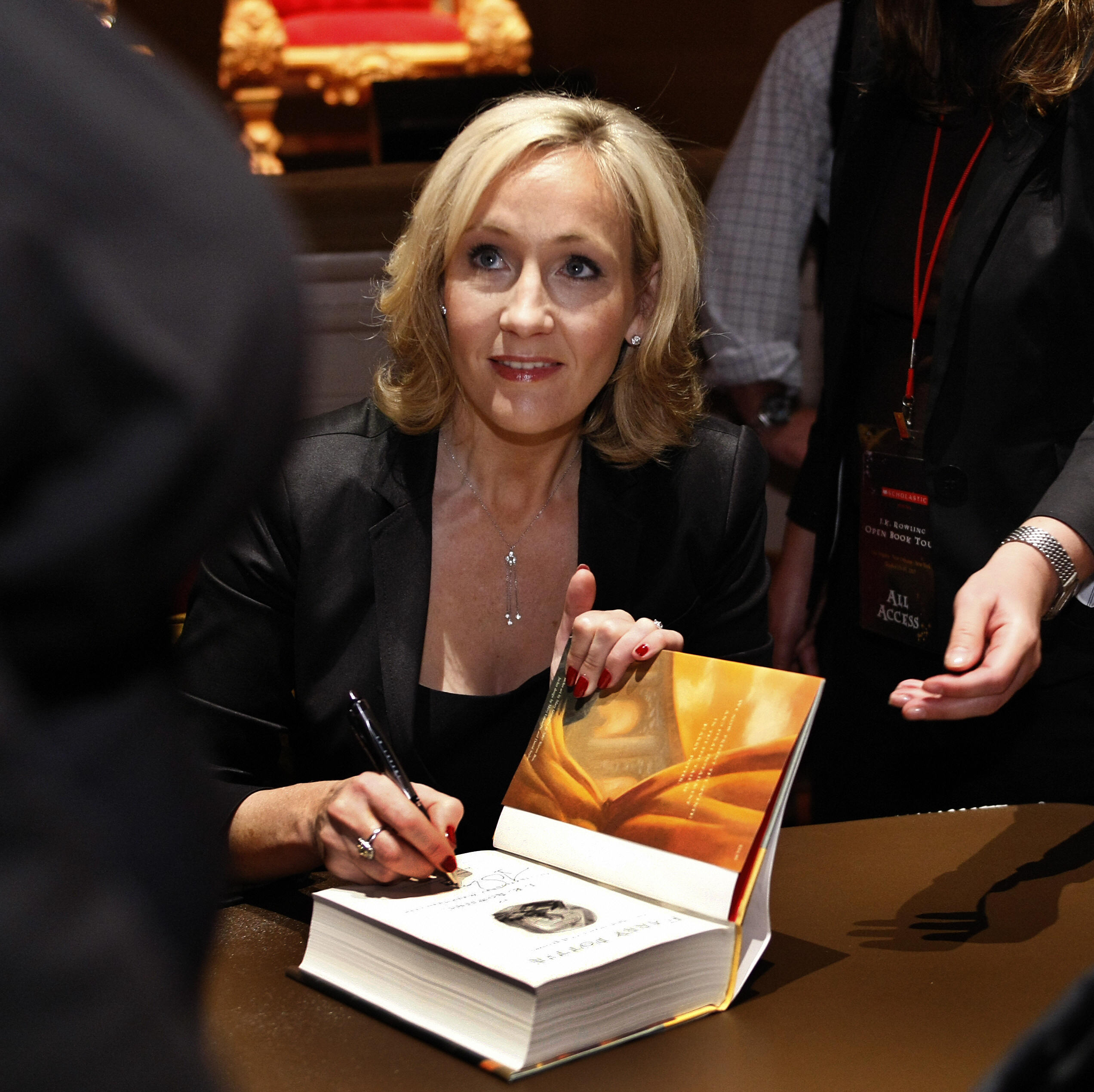 j k rowling s harry potter outline puts all your high school  timothy a clary afp getty images