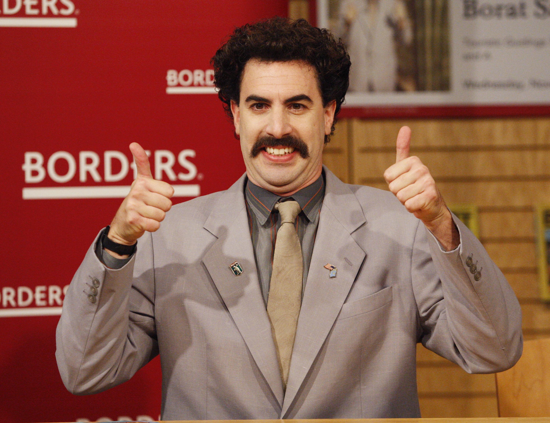 Borat Very Nice Animated Gif