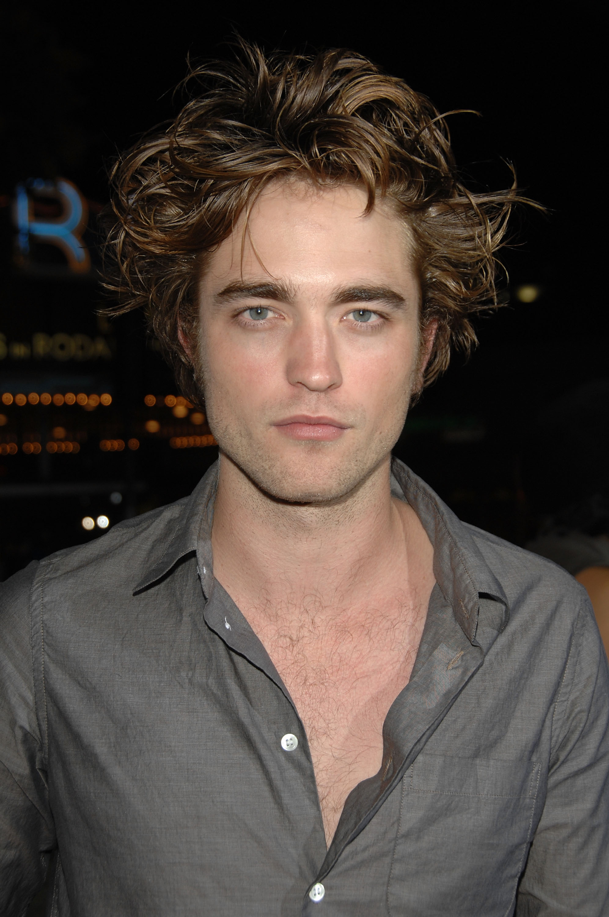 Pattinson Robert hairstyles pictures new photo