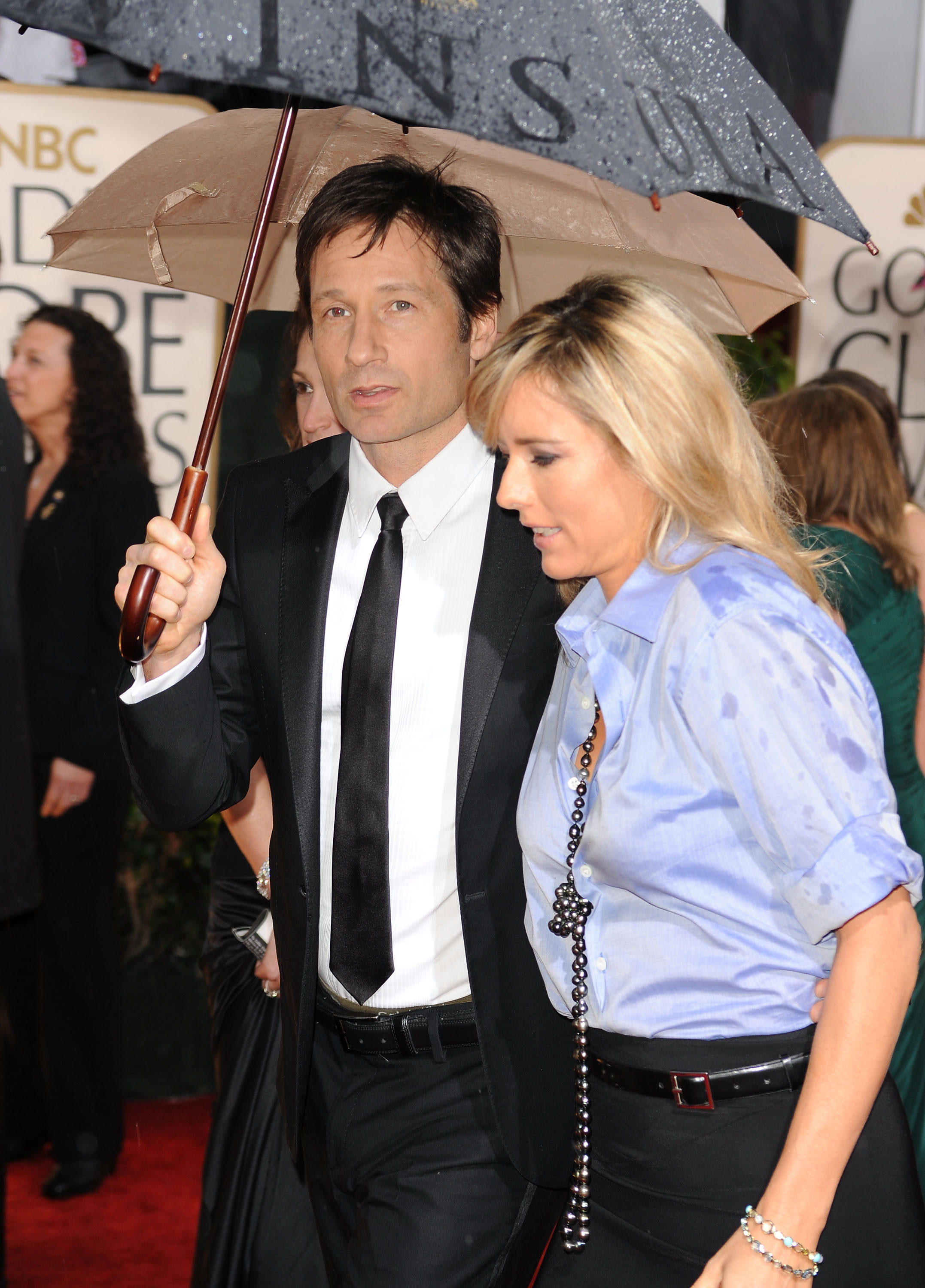 Tea Leoni David Duchovny Wedding