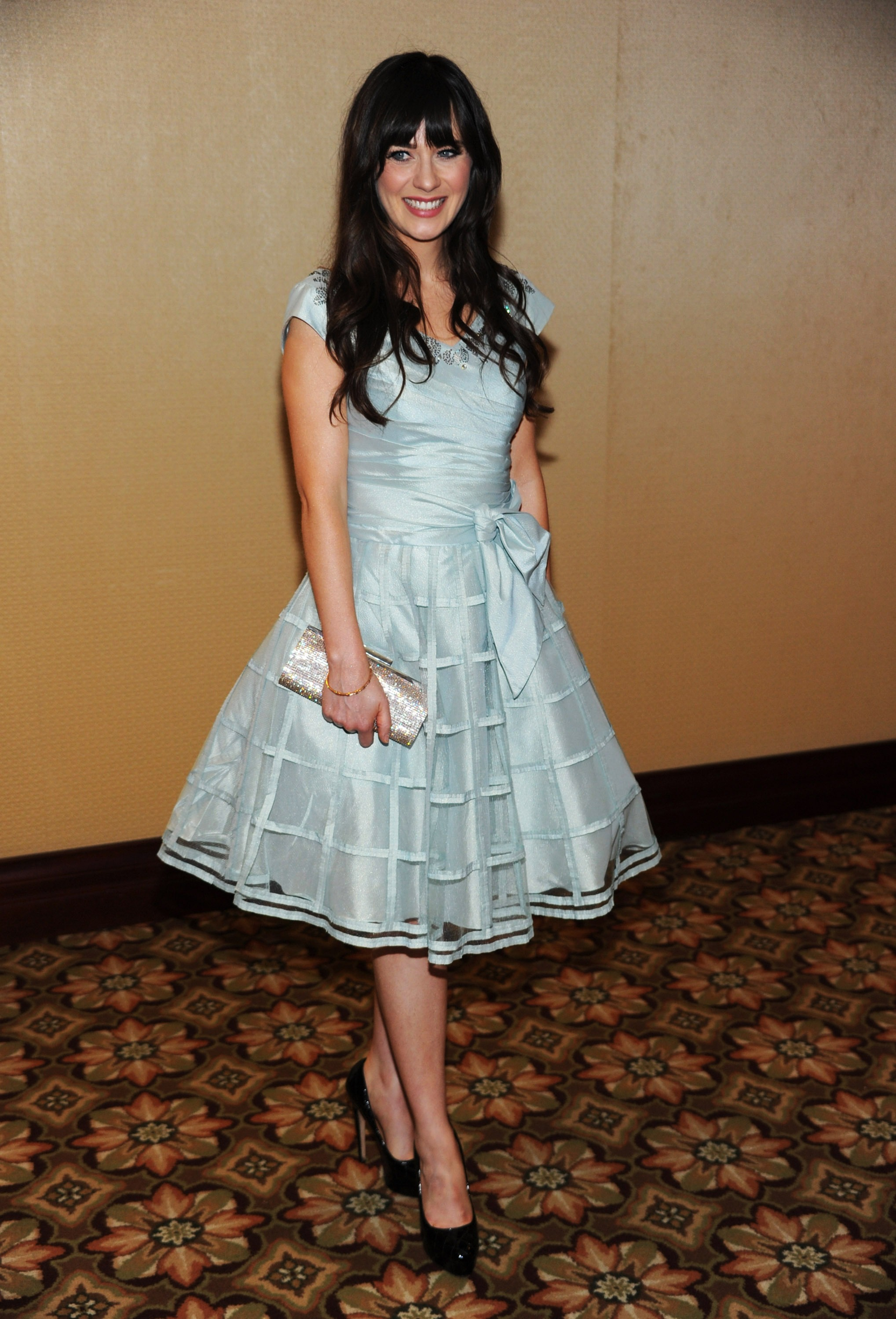 17 Vintage-Inspired Zooey Deschanel Style Moments That Prove She\'s ...