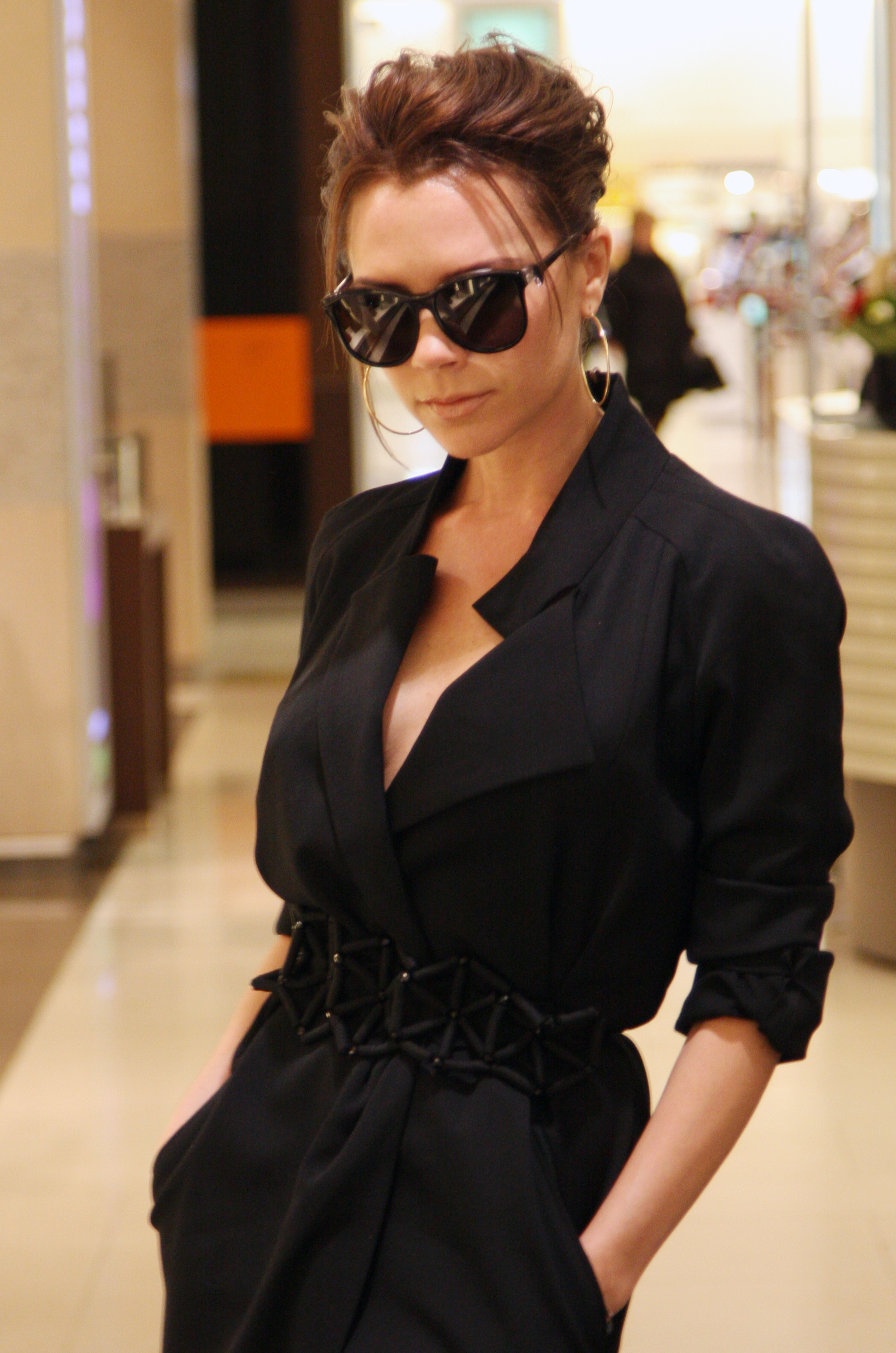 ea3bb2e72c Victoria Beckham Designed Sunglasses That Will Never Go Out Of Style —  PHOTOS