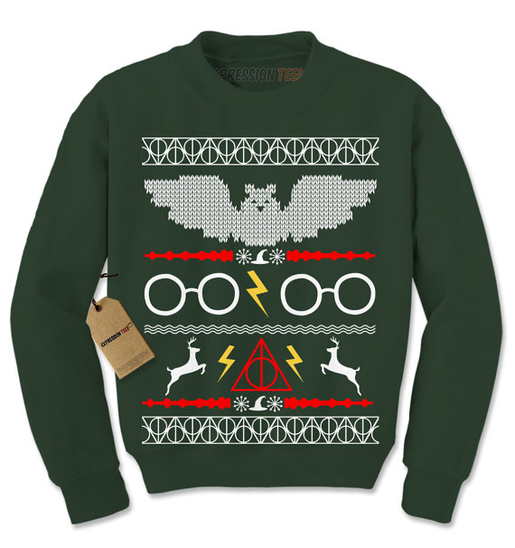 9 Harry Potter Christmas Sweaters That Will Make You Feel Like A ...