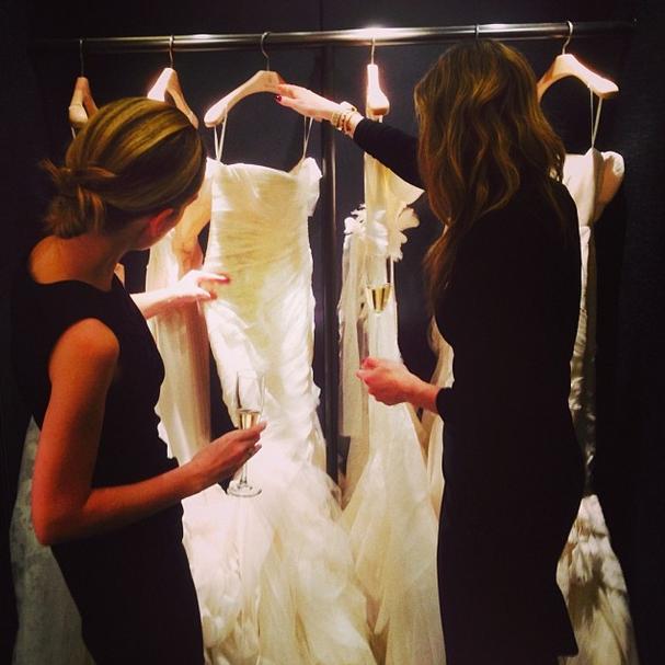 Shopping for Wedding Dresses