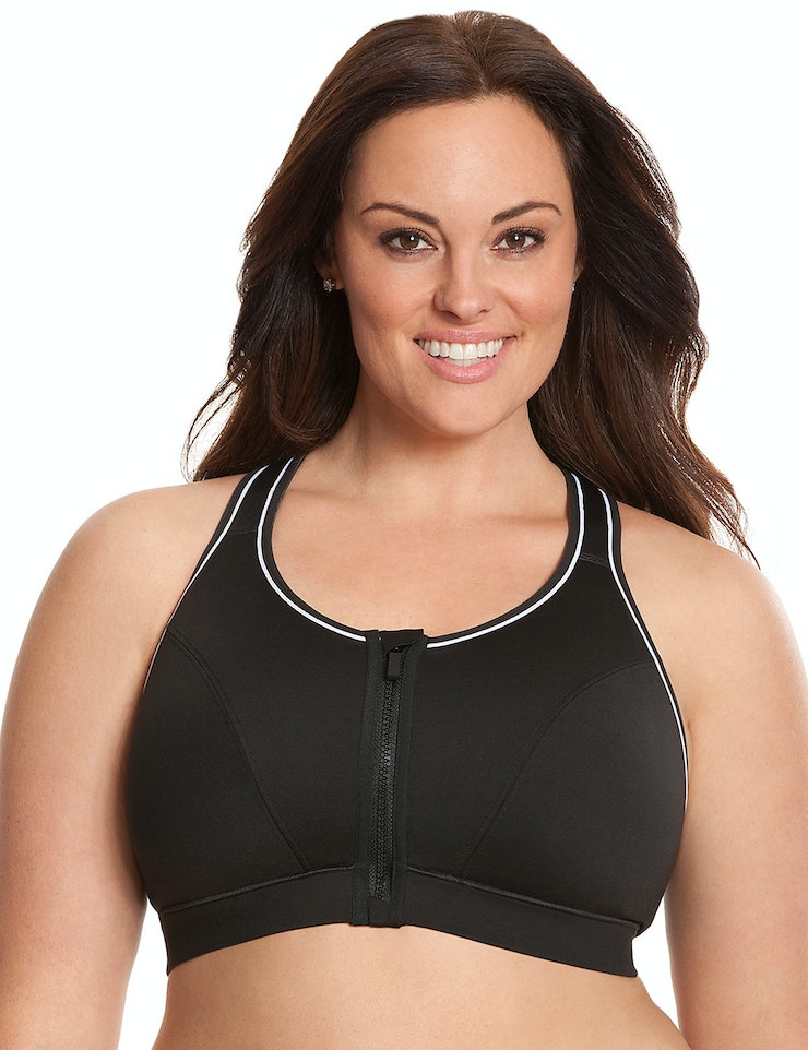 13 Sports Bras That Zip Up If You're Looking For Support That's ...