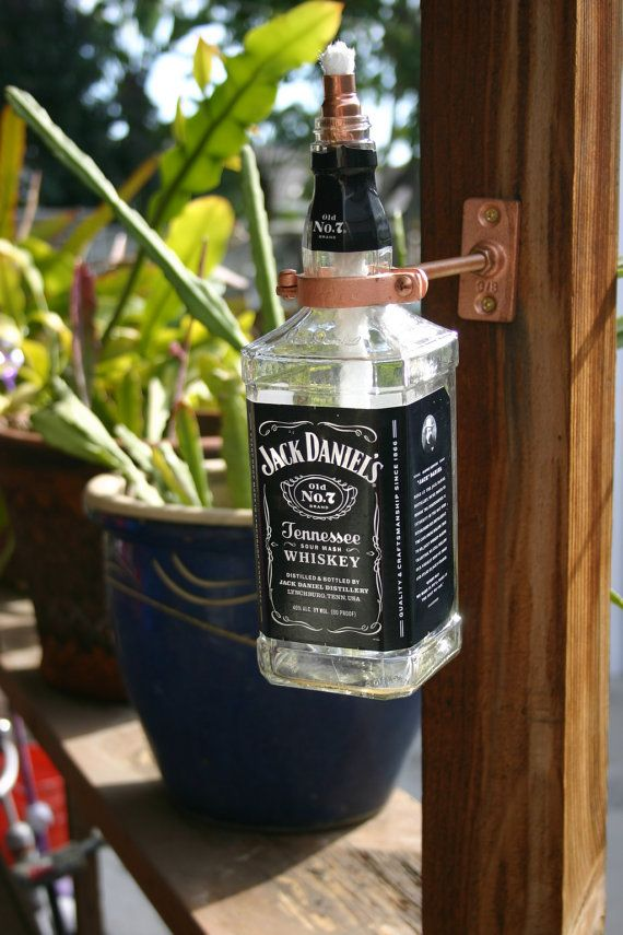 Whiskey Bottle Decoration Ideas Simple 9 Ways To Repurpose Your Jack Daniel's Bottles Because Showcasing Inspiration Design