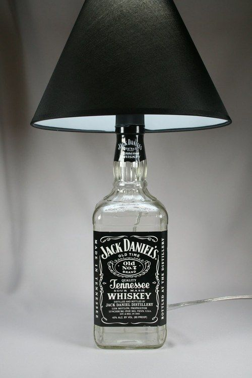 9 Ways To Repurpose Your Jack Daniel S Bottles Because Showcasing Used Liquor On Shelf Was Only Cute In College
