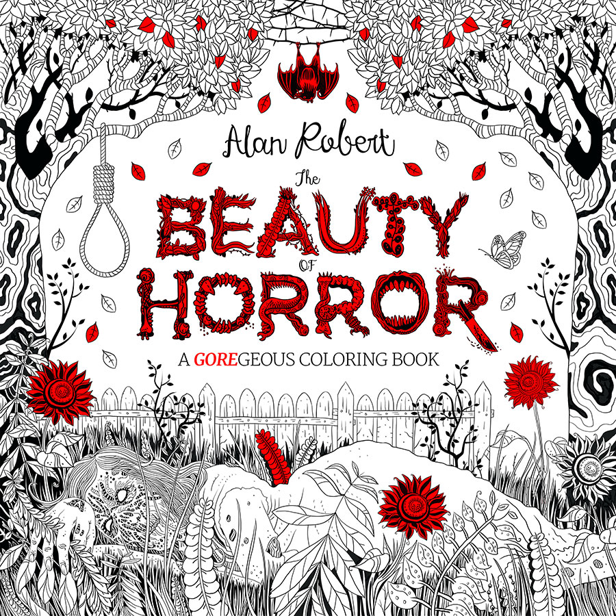 This Creepy Adult Coloring Book Will Give You All Of The Nightmares