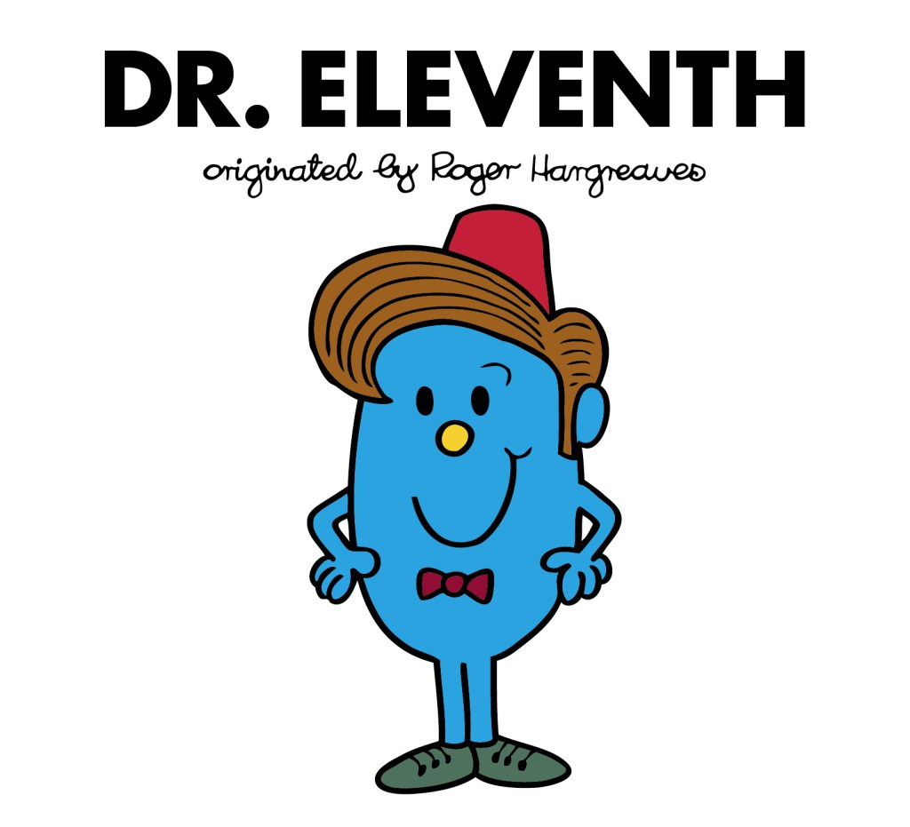 Excited much: Mr. Men books warp into Doctor Who crossover