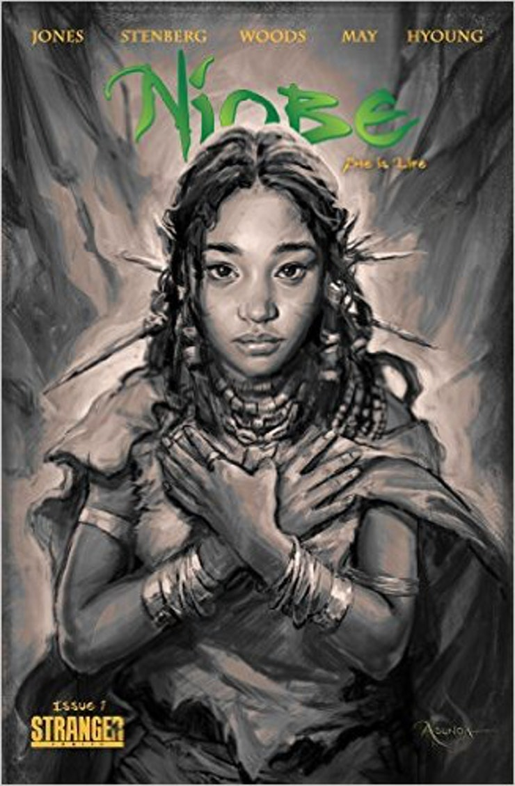 Hunger Games Actress Amandla Stenberg Teamed Up Withic Book Writer  Sebastian A Jones To Tell The Story Of Niobe, An Orphaned Elf On The Run  Who Is