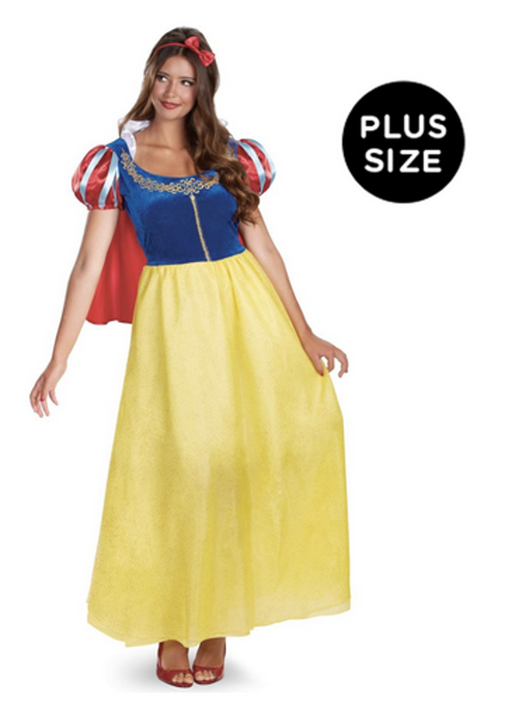 the snow white costume - Modest Womens Halloween Costumes