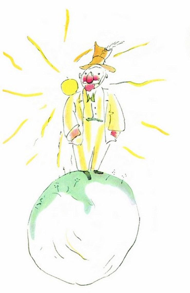 Le vaniteux de la planète 326 - le petit prince