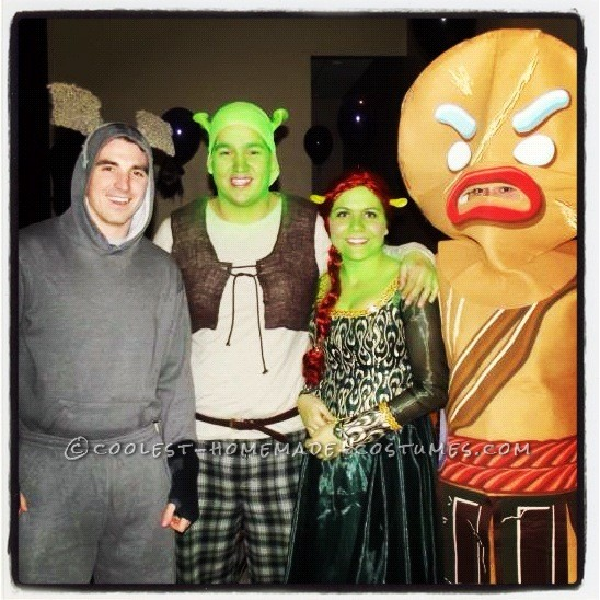 23 fantastical group halloween costumes for celebrating with all never has there been such a stupendous team of ogres donkeys and gingerbread men solutioingenieria Choice Image