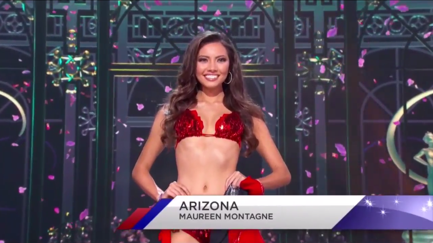 The Miss Usa 2015 Swimsuit Competition Was Filled With 15 Nearly Identical Bikinis