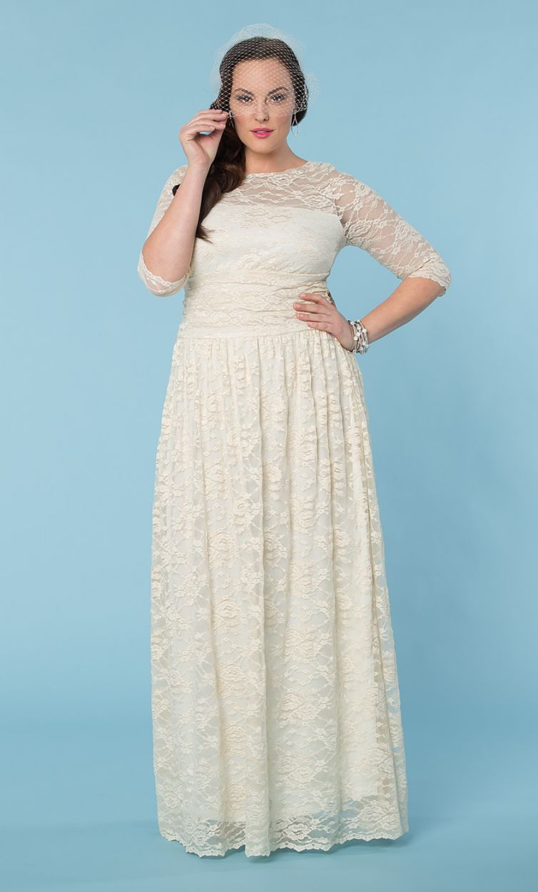 Awesome Vintage Wedding Dresses Plus Size Ideas - Styles & Ideas ...
