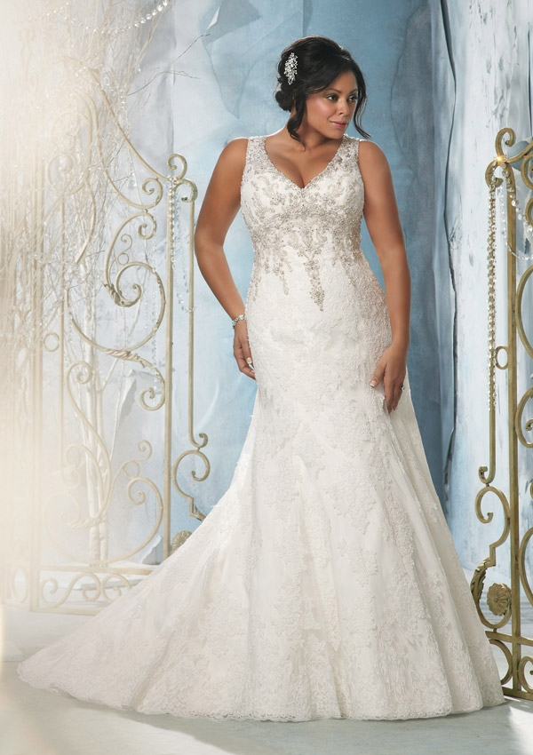 25 Stunning PlusSize Wedding Dresses For Every Style Of Nuptial - Plus Size Fall Wedding Dresses