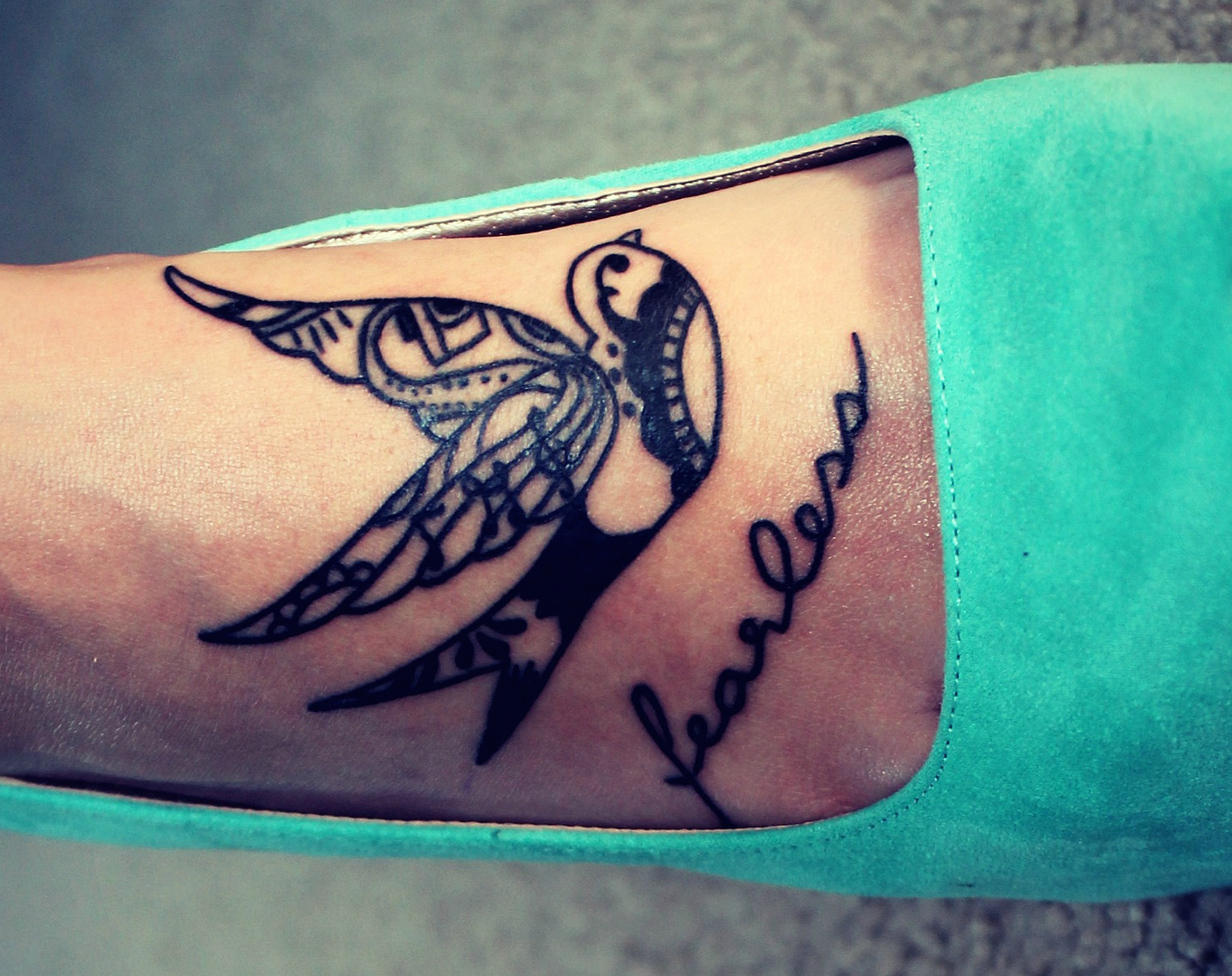 17 Powerful One Word Tattoos That Prove A Single Word Can Make A ...