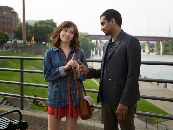 did aziz ansari 39 s real girlfriend inspire rachel on 39 master of none 39 she may have a different. Black Bedroom Furniture Sets. Home Design Ideas