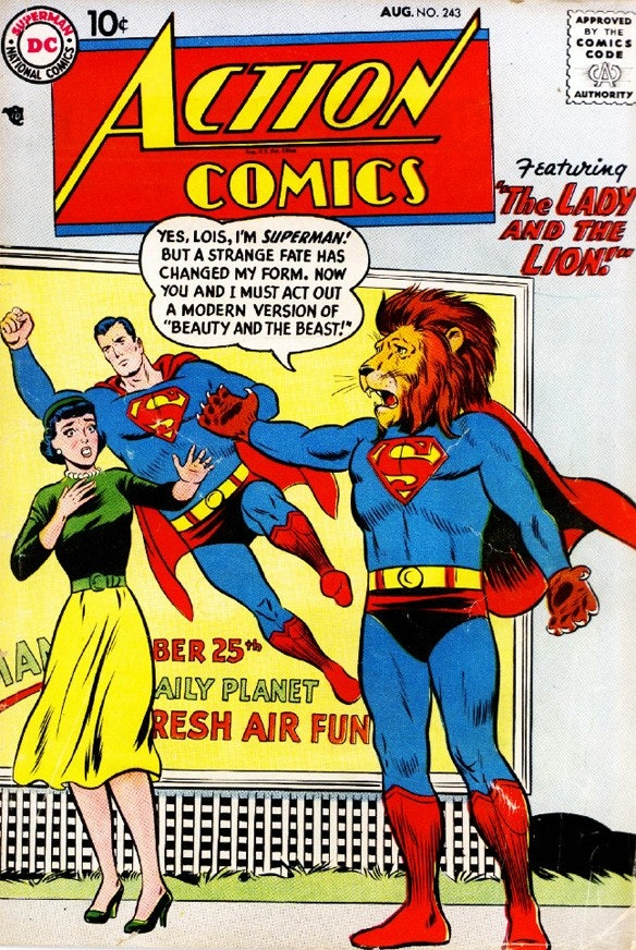 papa Superman spank says