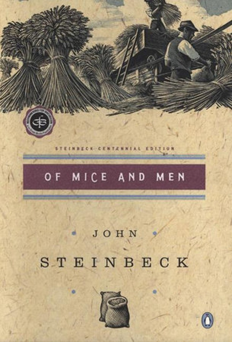 15 short books you ll wish would never end of mice and men by john steinbeck