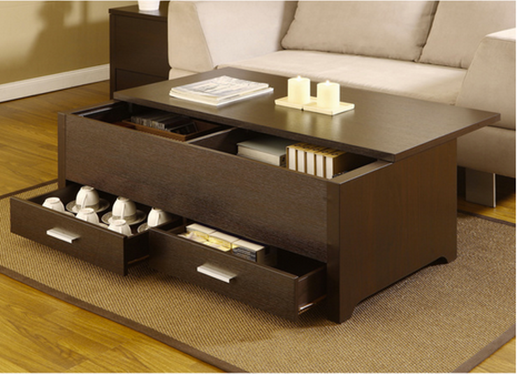 Coffee Tables Are A Great Way To Get Little Extra Hidden Storage And There Lot Of Super Aesthetically Pleasing Options That Wont Look Bulky Or