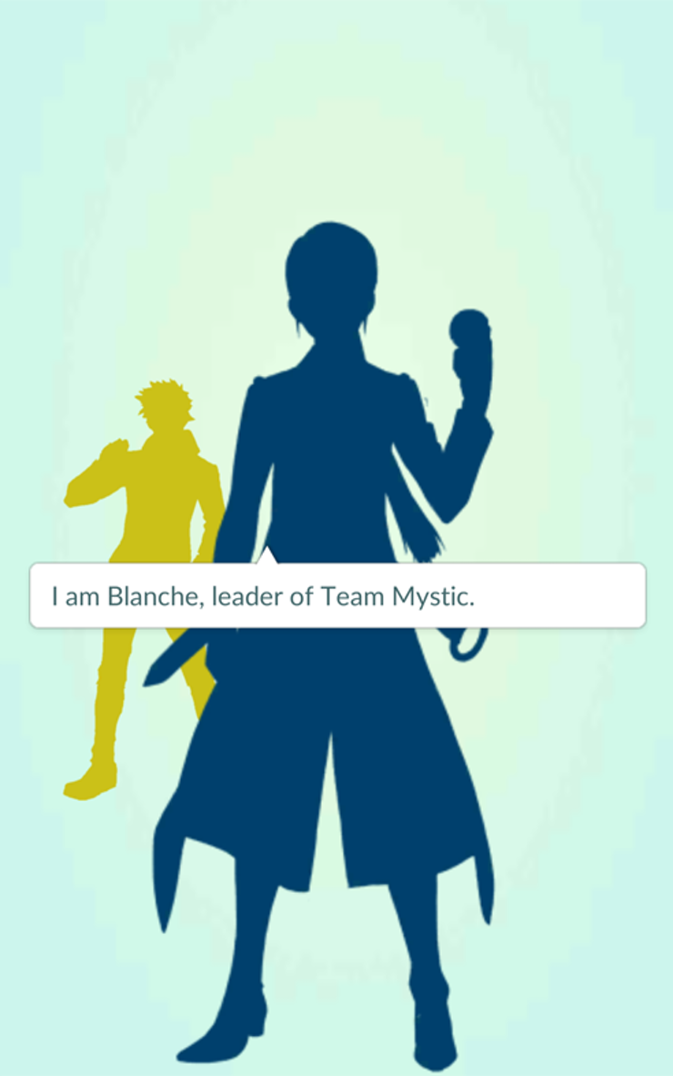 how to join a team in pokemon go whether it s team valor team blanche leader of the blue team is an intellectual who spends just as much time studying pokemon as she does training them