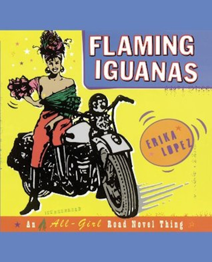 the journey of tomato rodriguez in erika lopezs flaming iguanas Flaming iguanas school and office supplies: general books, wellness, medical.