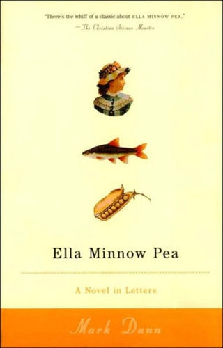 "ella minnow pea character Ella ella plays a pivotal role in the novel she may be seen as the ""main""  character however, many characters outshine her for most of the novel namely ."