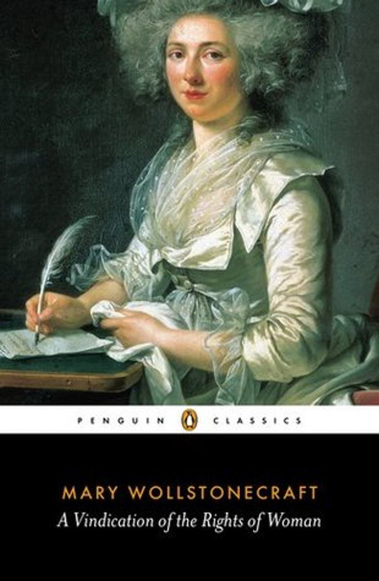 the 25 feminist books everyone needs to add to their tbr pile a vindication of the rights of women by mary wollstonecraft
