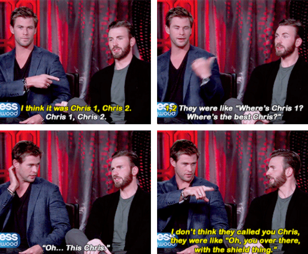 Chris Hemsworth And Tom Hiddleston Bromance