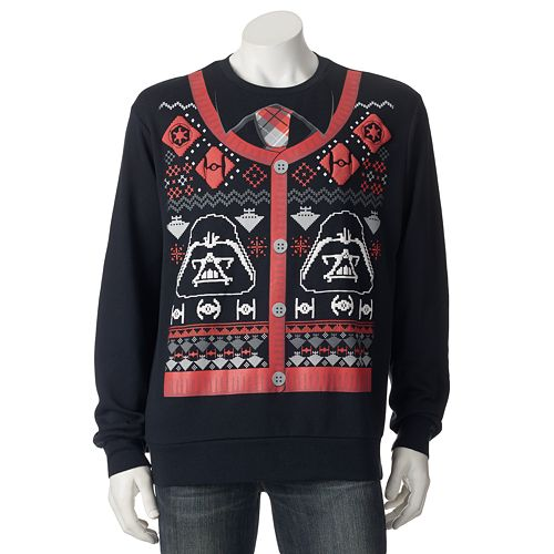 Star Wars' Ugly Christmas Sweaters Will Bring The Force To Your ...