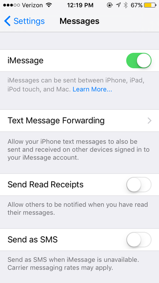 how to do read receipt outlook