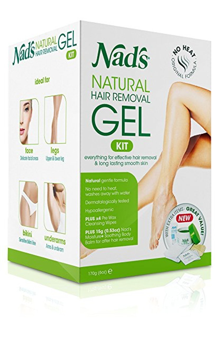 Hair removal reviewed and ranked - Nad S Natural Hair Removal Gel Kit 12 Amazon