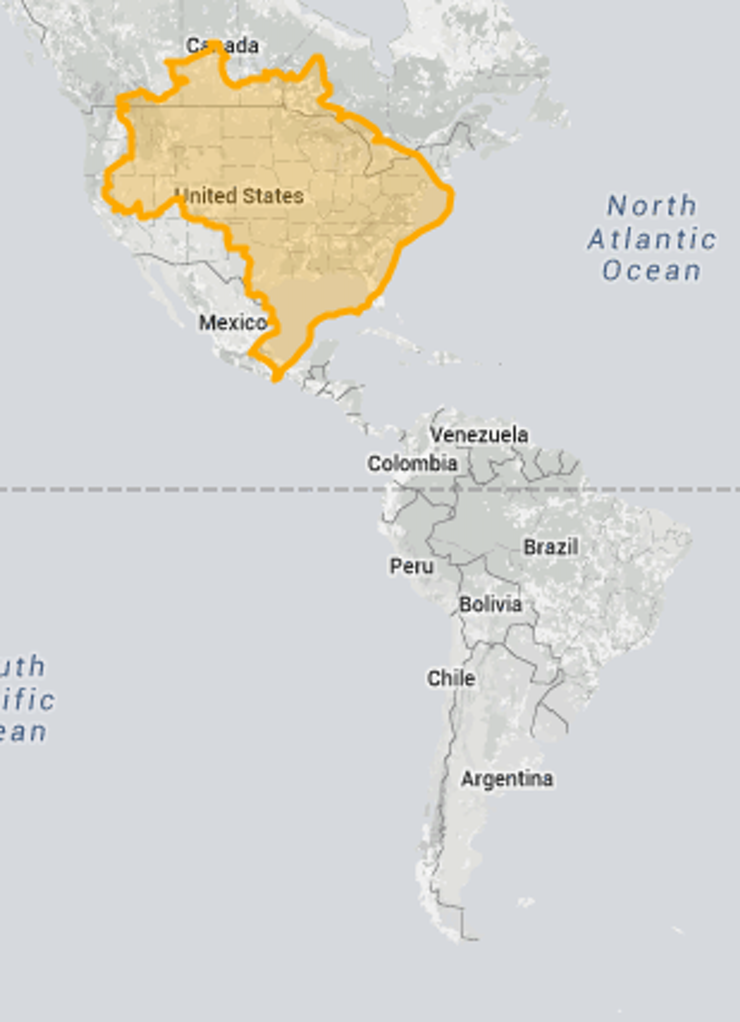 The True Size Map Shows Us Everything We Thought We Knew About - Argentina map equator