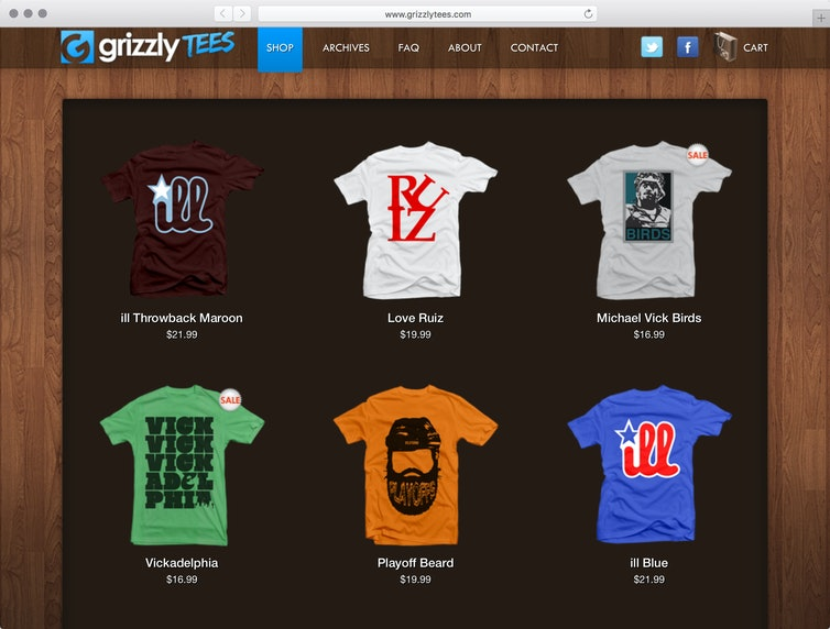 Grizzly Tees