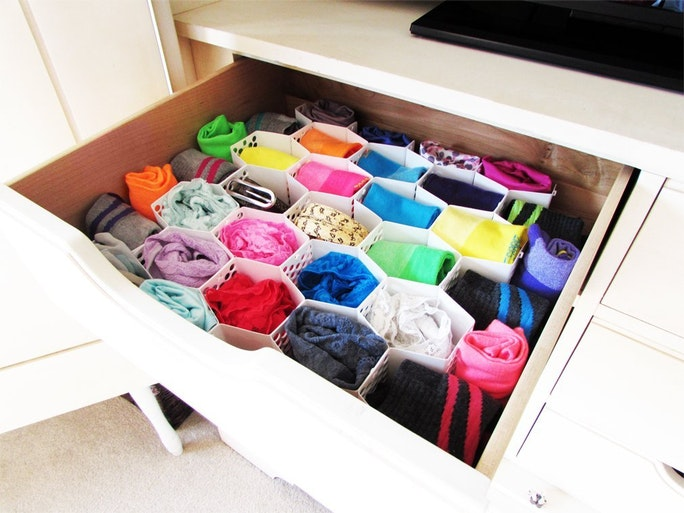 How To Organize Your Bra, Underwear & Sock Drawers With 8 ...