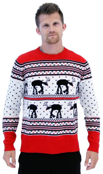 13 Star Wars Ugly Christmas Sweaters That Will Remind Santa The ...