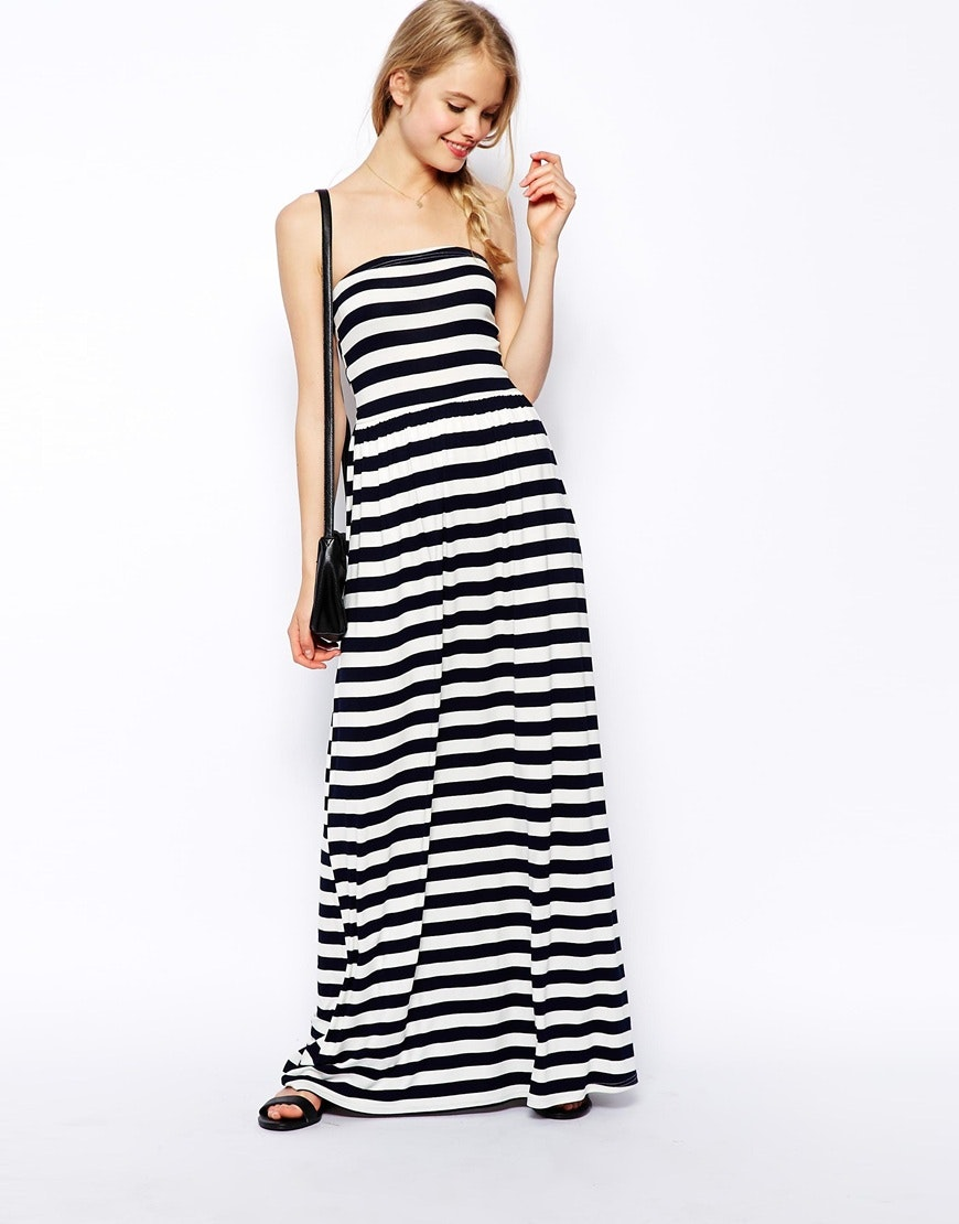 maxi dress too much cleavage
