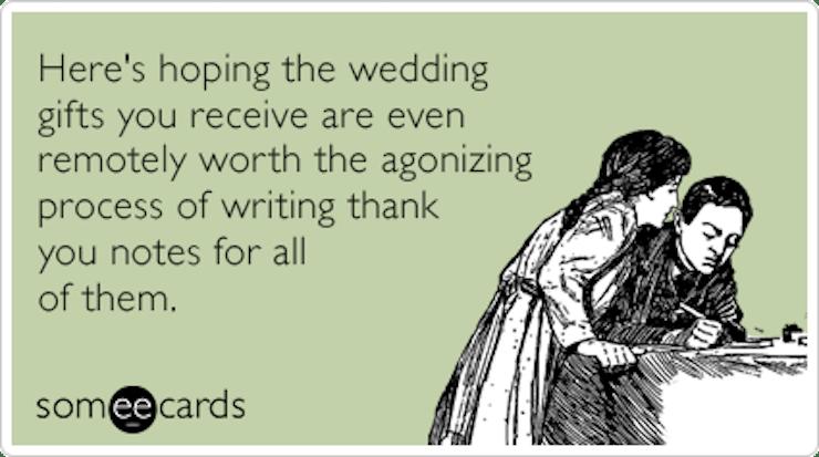 Image result for wedding gift meme