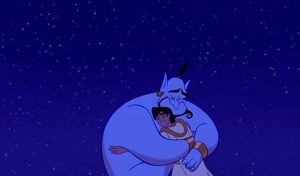 Genie Aladdin Robin Williams Print Oh to be free