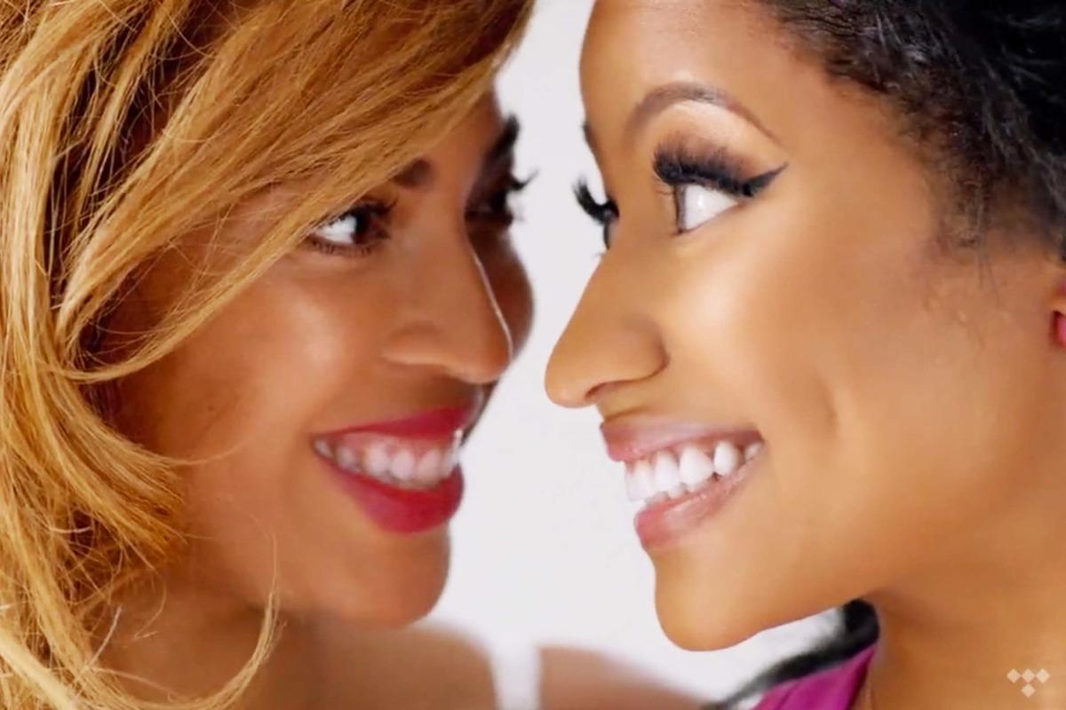 Beyonce And Nicki Minaj Photoshoot 2015