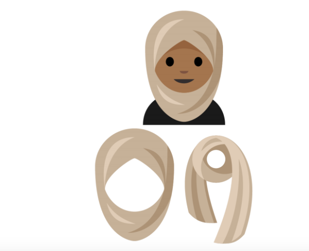 New emojis to include hijab, breastfeeding, yoga