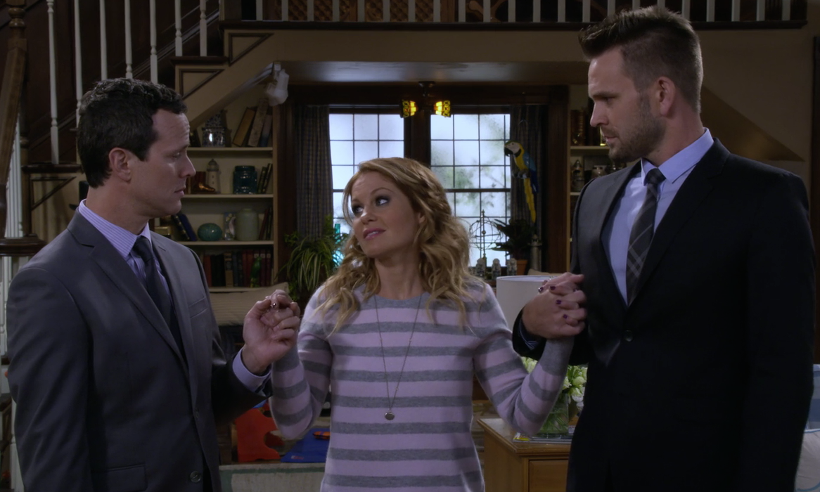 d j could get a new love interest on fuller house but here s why he won t be a threat to steve