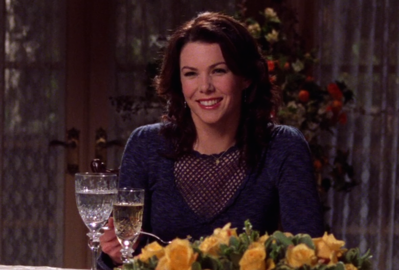 Lorelai S Best Friday Night Dinner Outfits On Gilmore