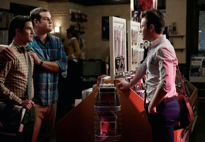 glee blaine dating karofsky Glee season 6 spoilers - exclusive details on: blaine/karofsky romance, time jump between seasons and what rachel, kurt & blaine will do back in lima.